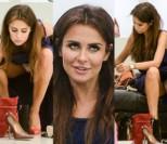 Natalia Siwiec pokazuje majtki w sklepie obuwniczym (ZDJĘCIA)