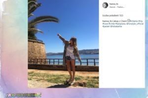 Hanna Lis wyjechała do Grecji