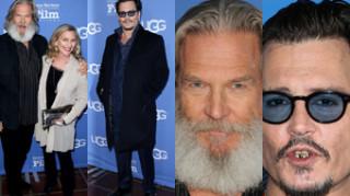 Tak wyglądają dzisiaj Johnny Depp i Jeff Bridges (ZDJĘCIA)