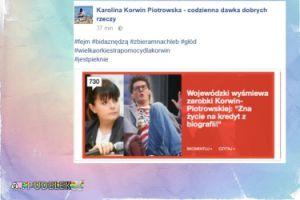 """Korwin Piotrowska po ataku Wojewódzkiego: """"Wielka Orkiestra Pomocy dla Korwin"""""""