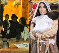 Kim pokazuje zdjęcia ze chrztu córki!
