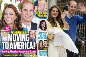 """Kate Middleton """"ucieka przed królową"""" do USA?"""