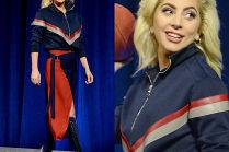 Lady Gaga w stylizacji od Versace