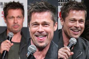 Trzeźwy i uśmiechnięty Brad Pitt promuje swój nowy film (ZDJĘCIA)