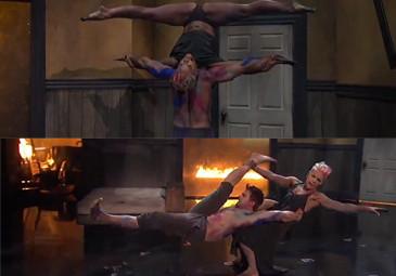 Pink wykonuje akrobacje na scenie! (WIDEO)