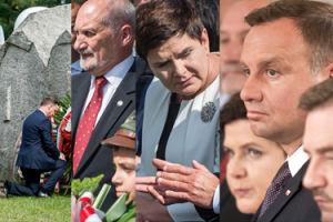 """Szydło i Duda upamiętniają ofiary komunizmu: """"Polska droga do wolności była znaczona męczeństwem i krwią"""" (ZDJĘCIA)"""