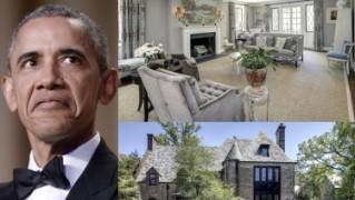 W tym domu zamieszkają Barack i Michelle Obama! (ZDJĘCIA)