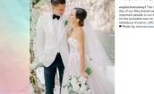 Szczęsny i Marina pokazują fotki ze ślubu