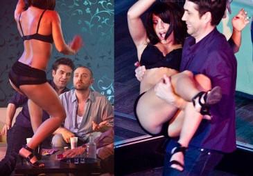 """""""Tancerze"""" w klubie ze striptizem (ZDJĘCIA)"""
