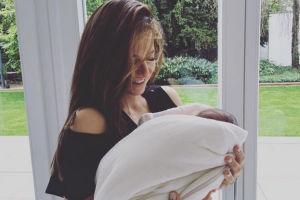 """PIERWSZE zdjęcie Ani Lewandowskiej z córką! """"Dziękuję za dobrą energię"""" (FOTO)"""