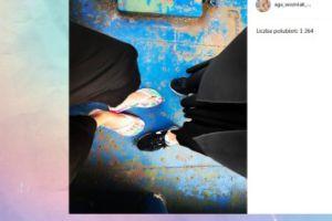 Agnieszka Szulim pokazuje buty