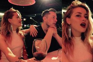 """Amber Heard już wróciła do kochanka-miliardera? """"Oboje świetnie się bawili w swoim towarzystwie"""""""