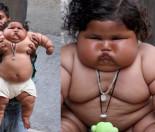 """8-miesięczna dziewczynka waży 18 KILOGRAMÓW, bo... """"BÓG TAK CHCIAŁ""""!"""