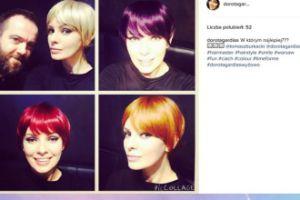 Dorota Gardias zastanawia się nad kolorem włosów