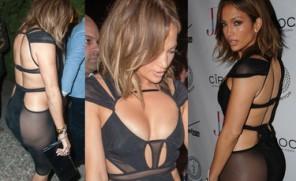 Pośladki Jennifer Lopez na 46. urodziny... (ZDJĘCIA)