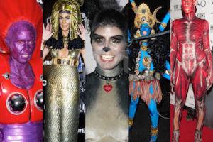 Najlepsze przebrania Heidi Klum na Halloween! (ZDJĘCIA)