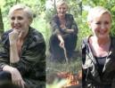 """""""Wojskowa"""" Agata Duda w kurtce moro piecze kiełbaski na obozie survivalowym (FOTO)"""