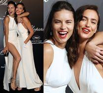 Irina Shayk i Adriana Lima razem w Cannes