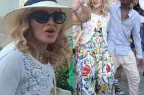 Stylowa Madonna świętuje urodziny we Włoszech