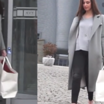 """Julia Kamińska w szpilkach wychodzi z """"Pytania na Śniadanie"""""""