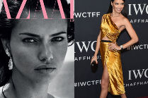 "Naturalna Adriana Lima na okładce ""Harper's Bazaar"""