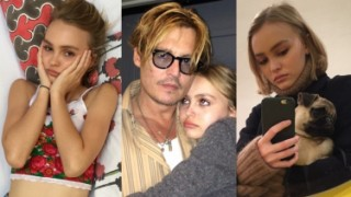 Córka Johnny'ego Deppa i Vanessy Paradis: Lily-Rose Depp (ZDJĘCIA)