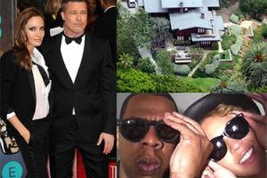 Beyonce i Jay-Z kupią dom Angeliny i Brada w Los Angeles?