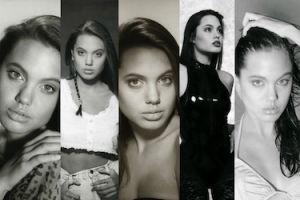 Zmysłowe zdjęcia 15-letniej Angeliny Jolie... To dzięki nim została modelką!
