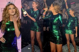 Polski Aniołek Victoria's Secret pije szampana na urodzinach (ZDJĘCIA)