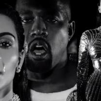 Zobaczcie nowy klip Kanye Westa! W roli głównej, oczywiście, Kim Kardashian!
