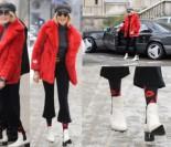 Sablewska w czerwonym futrze na mieście (ZDJĘCIA)