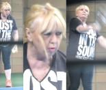 71-letnia Maryla Rodowicz walczy z rakietą na korcie (ZDJĘCIA)