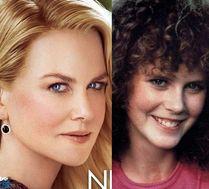 Gładka twarz Nicole Kidman w
