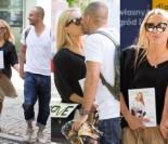 Ewa Chodakowska w stylizacji za PONAD 10 TYSIĘCY całuje się z mężem na ulicy (ZDJĘCIA)