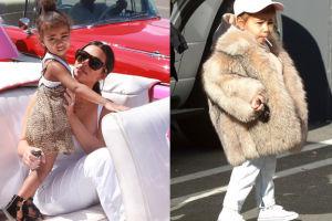 Córka Kim i Kanye ma własnego fryzjera i manikiurzystkę…