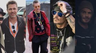 Johnny Depp, David Beckham, Cara Delevingne i inne gwiazdy na festiwalu Glastonbury (ZDJĘCIA)