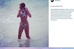 """Kwaśniewska w bikini: """"Pamiątka z czasów gdy uważałam się za kluskę"""""""
