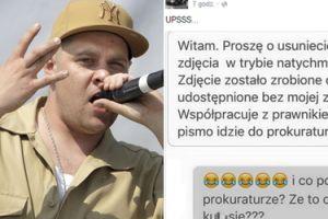 """Burza na fanpage'u Tedego: Raper pokazał zdjęcie dziewczyny WCIĄGAJĄCEJ """"BIAŁY PROSZEK"""" Z PENISA kolegi!"""