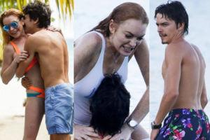 """Rosyjski narzeczony Lindsay Lohan próbował ją udusić?! """"CHCIAŁEŚ MNIE ZABIĆ, TO KONIEC!"""""""