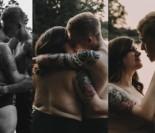 """Amerykańska para udowadnia, że """"miłość nie zna rozmiaru"""". """"Kocha mnie taką, jaka jestem!"""" (ZDJĘCIA)"""