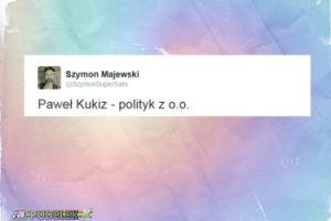 Majewski wyśmiewa Kukiza