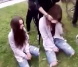 """Nastolatki próbowały nakarmić koleżankę... NIEDOPAŁKAMI papierosów! """"Otwórz jej ku*wa ten ryj!"""" (WIDEO)"""