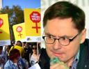 Terlikowski MODLI SIĘ na Facebooku o zakaz aborcji i potępia protest pod Sejmem:
