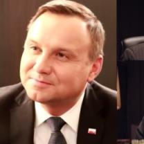 """Zdenerwowany Duda komentuje """"Ucho prezesa"""": """"Nigdy nie oglądałem"""""""