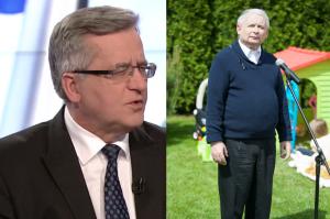 """Komorowski: """"To koniec legendy Kaczyńskiego jako wielkiego stratega politycznego"""""""