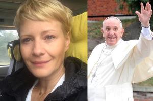 """""""Matka Boska Kożuchowska"""" cytuje papieża Franciszka... w pociągu: """"Niech żyje Polska"""""""