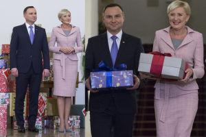"""Andrzej Duda z żoną wspierają """"Szlachetną paczkę"""" (ZDJĘCIA)"""