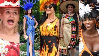Najgorsze stylizacje z Ascot: zwierzęce wzory, dekolty i koszmarne kapelusze (ZDJĘCIA)