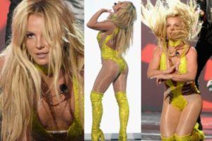 Odchudzona Britney Spears na gali MTV (ZDJĘCIA)