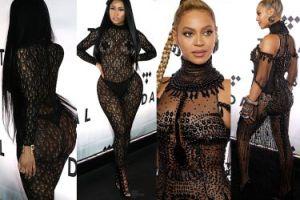 Zaklejone sutki Nicki Minaj i Beyonce bez bielizny... (ZDJĘCIA)